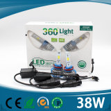 Neuester Scheinwerfer des Entwurfs-4000lm H4 LED für Auto mit Cer RoHS Bescheinigung