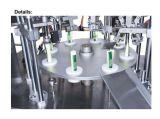 Equipo de relleno del llenador de la máquina del lacre del metal de la goma líquida Sime-Automática del tubo