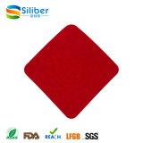El silicón Placemat lavable anti escalda las pistas aisladas calor del tazón de fuente de las esteras de los platos de la pista del silicón de la estera