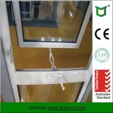 Stile americano Windows storto di alluminio con vetro standard australiano
