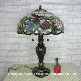 Lampe de table Tiffany pour décoration à la maison de l'usine de lampe de table à vitre pour la vente en gros