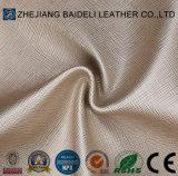 Heißes Entwurf PU-Kurbelgehäuse-Belüftungfaux-Leder für Möbel-Sofa-Schuh-Beutel-Leder