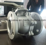 Шариковый клапан конца фланца ANSI RF с нержавеющей сталью