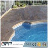 Il raggruppamento di linea di galleggiamento copre di tegoli le mattonelle facenti fronte del granito della piscina per i raggruppamenti esterni