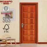 Schwingen-geöffnete Art und Eintrag-Tür-Typ hölzerne Innentür formt (GSP2-019)