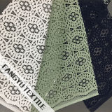 Qualitäts-Jacquardwebstuhl-Baumwollspitze für Kleid-Gewebe
