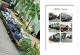 Schuh-Produktion Lind der Plastikzerkleinerungsmaschine