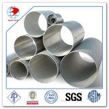 tubulação de aço inoxidável soldada Tp321 de 8inch Schedule60s