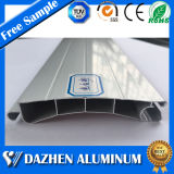 Rodillo personalizado de puerta de persiana de aluminio / aluminio de extrusión de perfiles con Oxidación