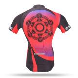 Jerseys de ciclo sublimados Jersey respirables cómodos de ciclo 2016 de la bicicleta de la ropa del OEM