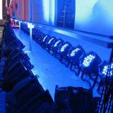 PARIDADE UV profissional do diodo emissor de luz da luz 18X18W RGBWA do estágio