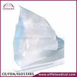 Maschera di protezione chirurgica medica a gettare della polvere 3-Ply