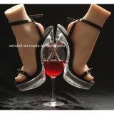 Нога манекена имитации для индикации ботинок высокой пятки носка