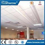 Carrelage de plafond suspendu acoustique à fibre minérale
