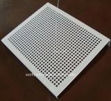 El panel/tira/hoja de aluminio anodizados de la protuberancia perforando