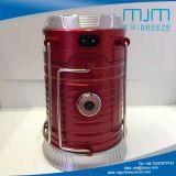 Lanterne campante rouge d'arrivée neuve avec rechargeable solaire