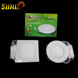 6W LED Blanco Paneles de Techo LED Luz del Panel
