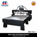 Machines rotatives CNC Cutting Machine 2.2kw Wood CNC Router Machine (VCT-1518FR-4H)