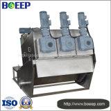 El PLC controla la máquina de desecación de la prensa de tornillo del lodo Volute