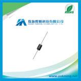 Plastikgleichrichterdiode 1n4001-E3 \ 54 des elektronischen Bauelements