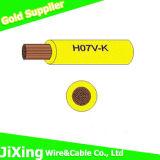 Colorir o fio elétrico do PVC do fio elétrico opcional