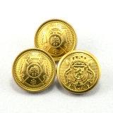 Покрынная золотом кнопка хвостовика металла для кнопки армии равномерной латунной воинской