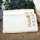 면으로 만든 호텔 목욕 수건은, 주문을 받아서 만들어진 로고 환영받다