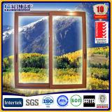 Doppia e singola di scivolamento finestra di vetro del blocco per grafici di alluminio