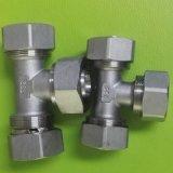 Encaixe da compressão do aço inoxidável para a tubulação do Pex-Al-Pex