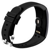 D21 Monitor de frequência cardíaca Smart Bracelet Swimming Alarm Clock Relógio de passo Lembrete de mensagem de chamada Smartband para Ios & Android Phone