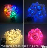 Ce et chaîne de lumières imperméable à l'eau de RoHS avec Rose de papier