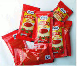 Linha de enchimento da ketchup de alta velocidade do saquinho da pasta de tomate