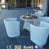 Decking compuesto plástico de madera de madera al aire libre popular europeo del grano WPC