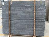 Mármol lavado ácido Negro de madera del grano Losas Baldosas de China