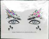 Стикер Rhinestone Eyeshadow стикера лицевой стороны диаманта красотки акриловой кристаллический (S052)