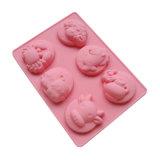 La FDA délivrent un certificat le moulage matériel de gâteau de silicones de catégorie comestible, 12 constellations a formé le deuxième moulage de gâteau de silicones