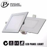Nuovo indicatore luminoso di comitato bianco di disegno 6W LED (quadrato)