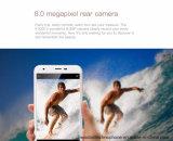 元のOukitel K7000の携帯電話のアンドロイド6.0 5.0inch Mt6737のクォードのコア2GB RAM 16GB ROM 8MPはスマートな電話金SIM 4G Lteの二倍になる