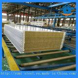 Bon panneau de Sanwich de laines de roche de force pour la décoration de mur/toit