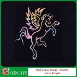 Traspaso térmico del vinilo del holograma de Qingyi Goog para la camiseta