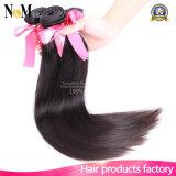 волос девственницы ранга 7A соткать человеческих волос Unprocessed бразильских прямой