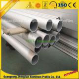 6063-T5 anodisierte,/Tausendstel-Ende,/Puder beschichtete Aluminiumstrangpresßling-Rohrleitung