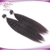 Волосы бразильянина девственницы человеческих волос африканских чернокожих женщин Kinky прямые