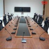 Uso del sistema de conferencia audio de Singden en la sala de conferencias Sm913