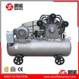 Compresor de aire industrial inferior del pistón del consumo de energía del HP