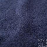 Tessuti del poliestere e delle lane con buona elasticità per l'autunno nell'azzurro di blu marino