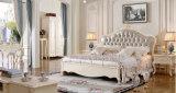 新しい木のホーム家具古典的な様式の寝室の家具(9022)