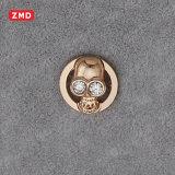 Кнопка способа кнопки металла шьет кнопку
