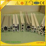 La fábrica de aluminio sacó el perfil de aluminio de la protuberancia de la ranura de 40*40 T