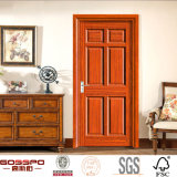 Puerta de madera compuesta de la nueva del diseño 4 del panel tarjeta del MDF (GSP6-014)